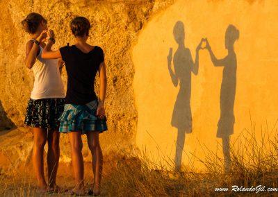 Amor de amigas en Ibiza